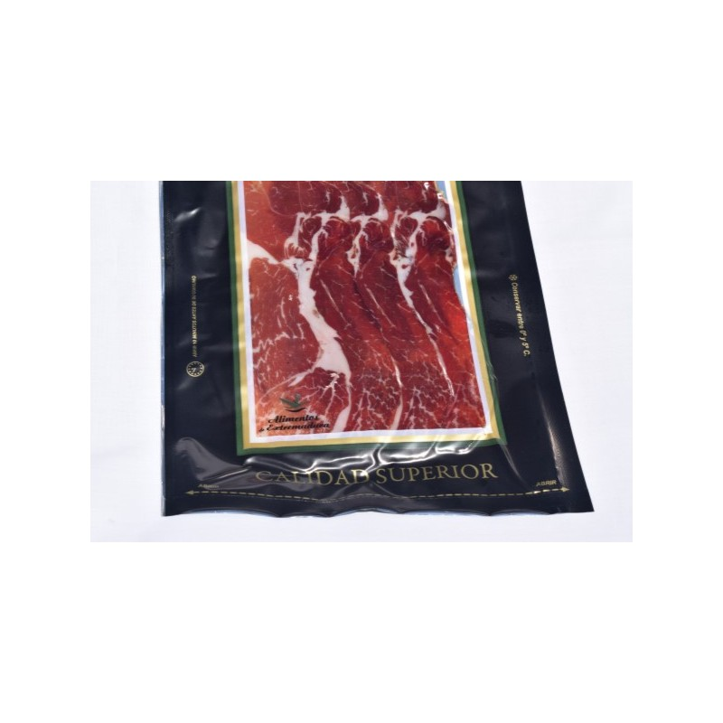 "Pork ham of ""cebo"", sliced, 50% Iberian"